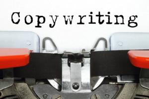 copywriter using typewriter